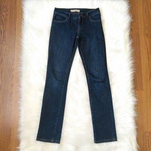 Topshop Moto Martha Jeans 26 x 31 Dark Blue Wash